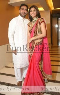 Shilpa Shetty with her Husband