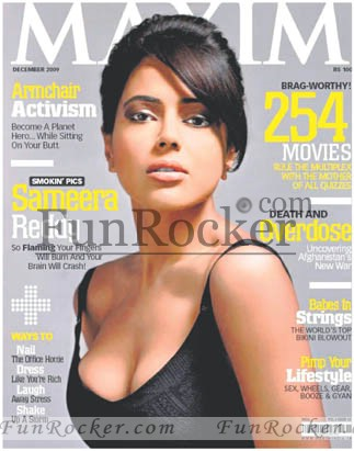 Sameera Reddy on Magazine Cover