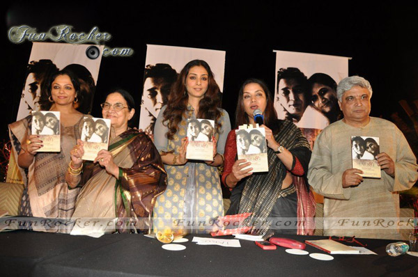 Bollywood Celebrities On Azmi Book Launch