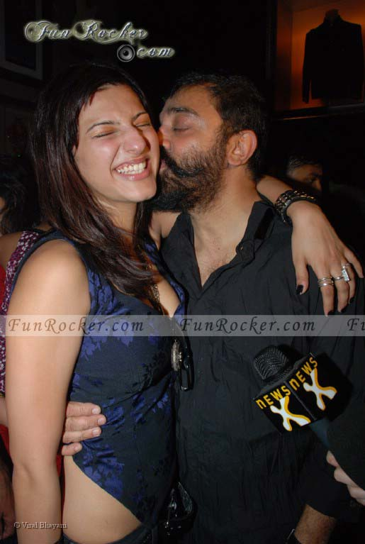 Shruti Hassan and Father Kamal Hassan
