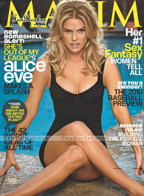 Alice Eve Maxim US April 2010