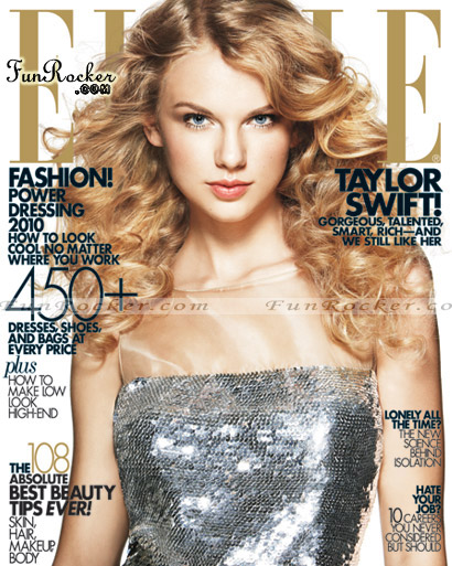 Taylor Swift ELLE Magazine April 2010