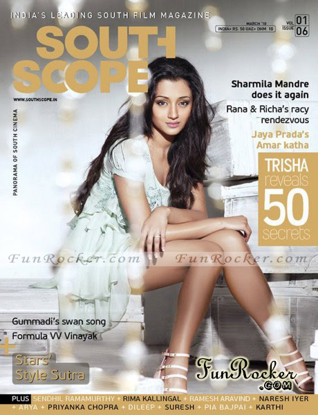Trisha On South Scope Magazine March 2010