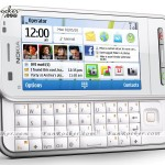 Mobile Phone Of Nokia Model C6