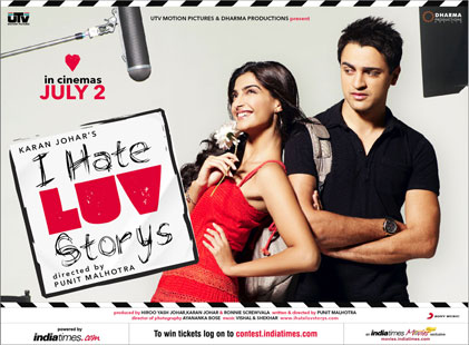 I Hate Love Stories/I Hate Luv Storys Tracklist