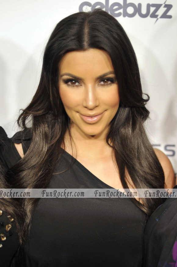 Kim Kardashian Website Relaunch Party With Here own
