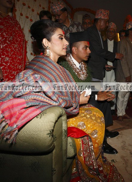 Manisha Koirala Wedding Pictures