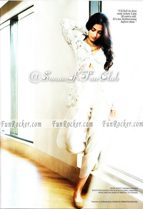 Sonam Kapoor On FilmFare Magazine 2010