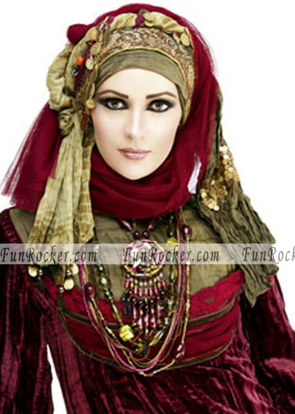 Arabian models in hijab scarf pictures funrocker com