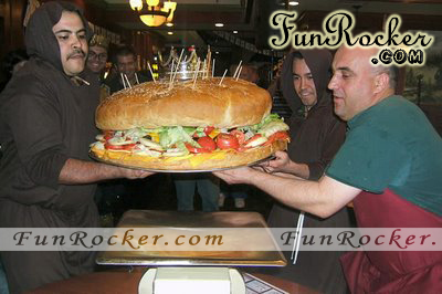 105 Pound King Burger