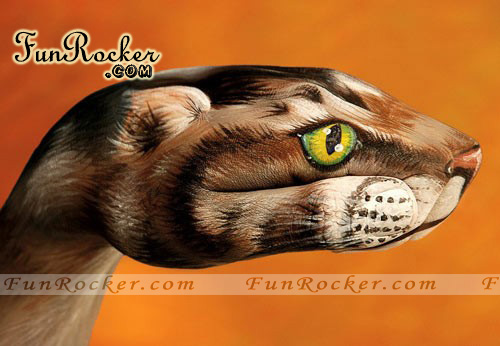 Amazing Animals Body Paints