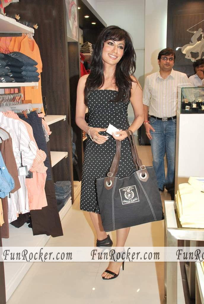 Bollywood Hottest Model Chitrangada Singh At Beverly Hills Polo Club Store Launch