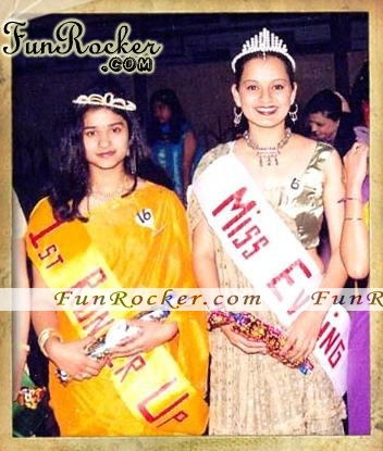 Kangana Ranaut Childhood Pictures