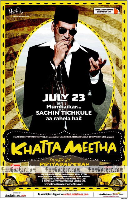 Watch Khatta Meetha Movie New Wallpapers Online