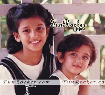 Shruti Hassan Childhood Pictures