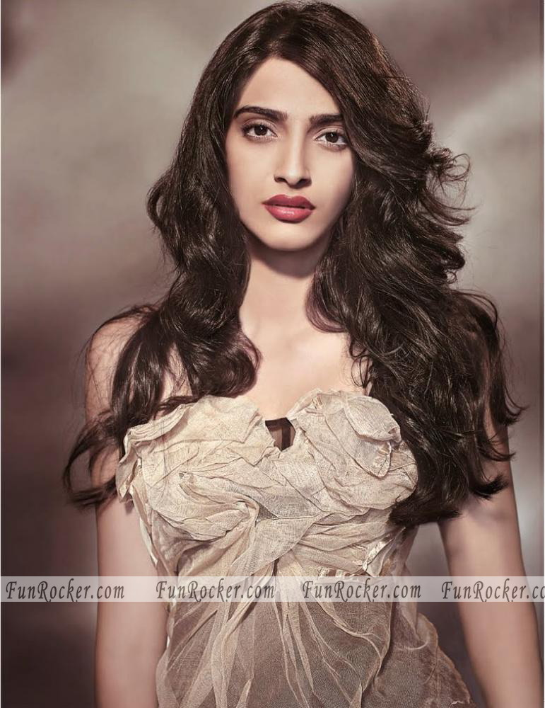 Sonam Kapoor on Marie Claire Cover Of July 2010
