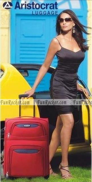 Bipasha Basu On Aristocrat Luggage Ad