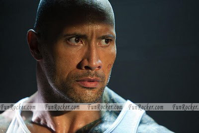 Dwayne Johnson in Faster