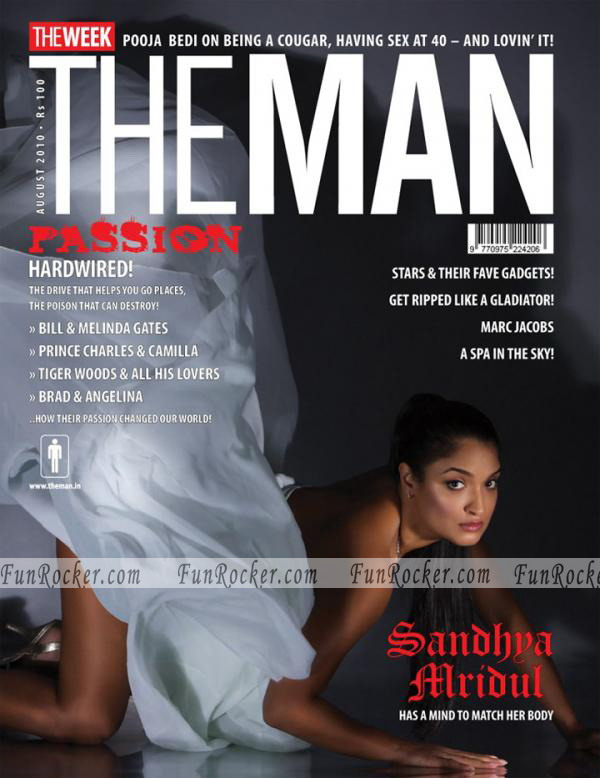 Sandhya Mridul At The Man Magazine Sep 2010
