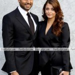 Aishwarya And Abhishek Bachchan At Giorgio Armani