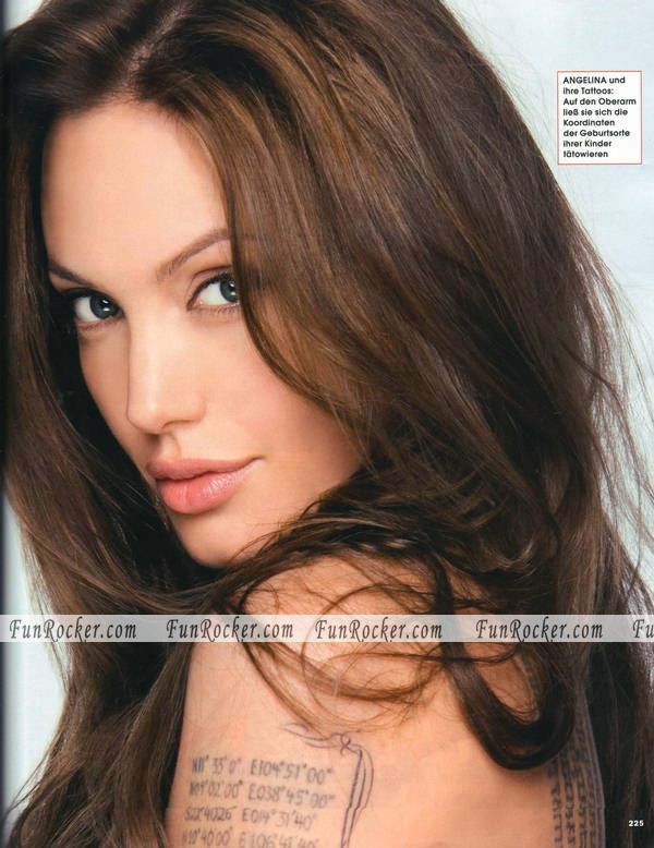 Angelina Jolie in InStyle Germany
