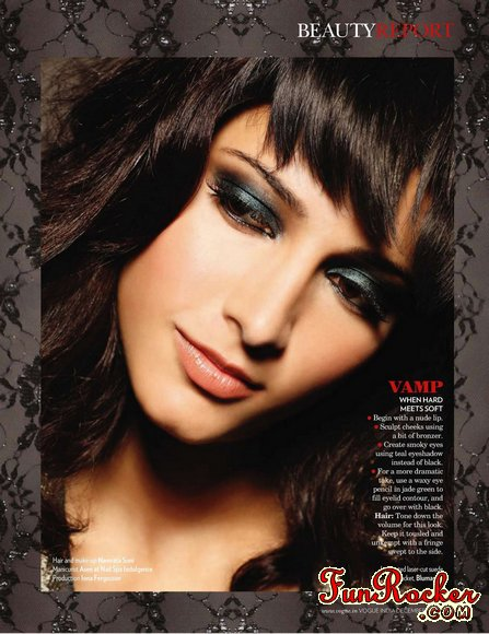 Shruti Hassan Vogue Magazine 2010