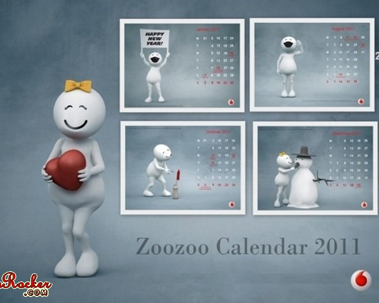 hello kitty january calendar 2011. january 2011 calendar zoozoo