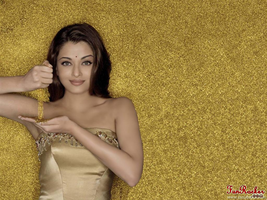 Golden Aishwarya Rai Bachchan (First Time On Internet)