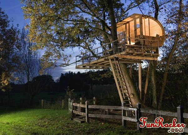 Amazing Luxury Tree Houses