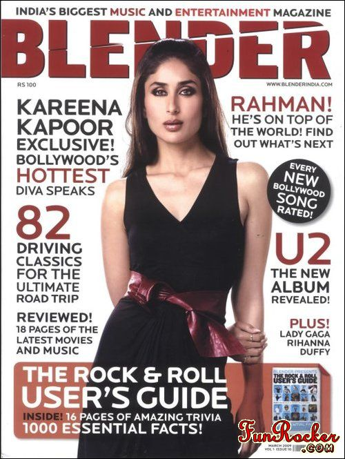Kareena Kapoor On Blender Magazine