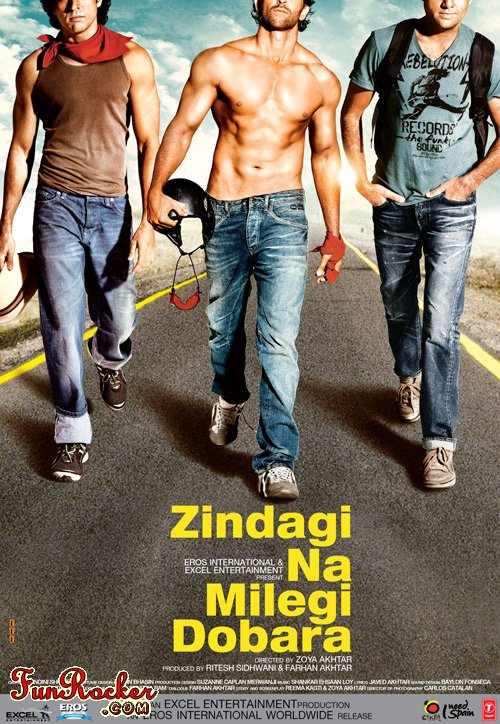 Watch Zindagi Na Milegi Dobara Movie Online Video Songs Teaser