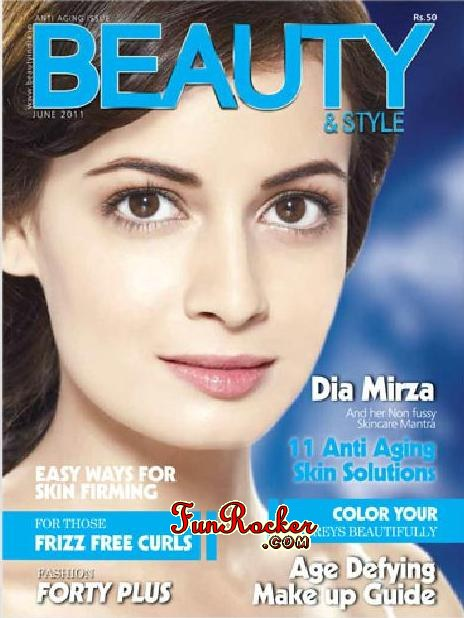 Dia Mirza Beauty And Style Magazine June 2011