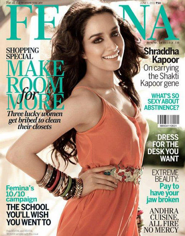 Shraddha Kapoor At Femina June 2011