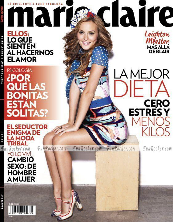 Leighton-Meester-Marie-Claire-Mexico