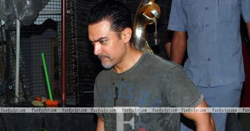 Bollywood Super Star Aamir Khan New Look for Dhoom 3 Movie