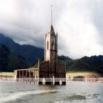Amazing Drowned Churches Pics