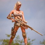 World-Hottest-Girls-With-Danger-Weapons-(FuRoCker.Com)-1
