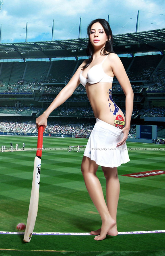 Rozlyn Khan Nude Photo Shoot for IPL