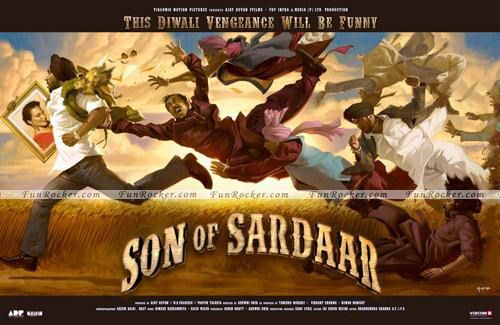 Son Of Sardar First Look