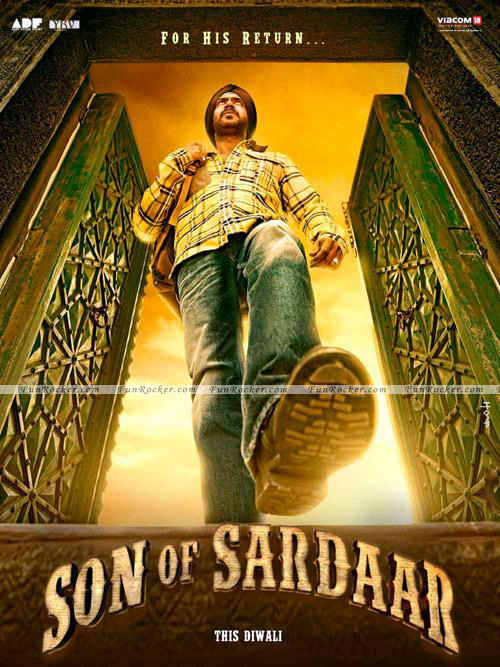 Son Of Sardar Movie First Look