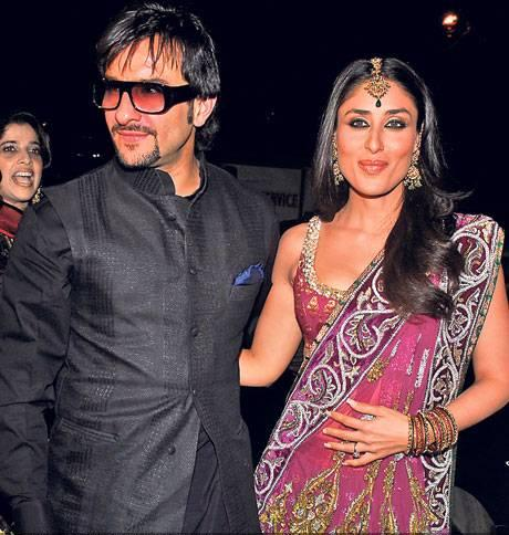 Kareena Kapoor and Saif Ali Khan Wedding