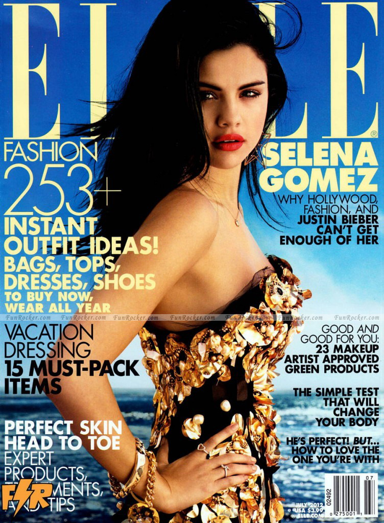 Selena Gomez on Elle