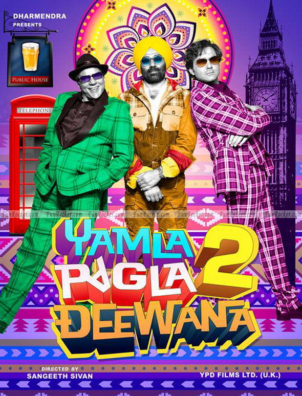 Yamla Pagla Deewana 2 First Look
