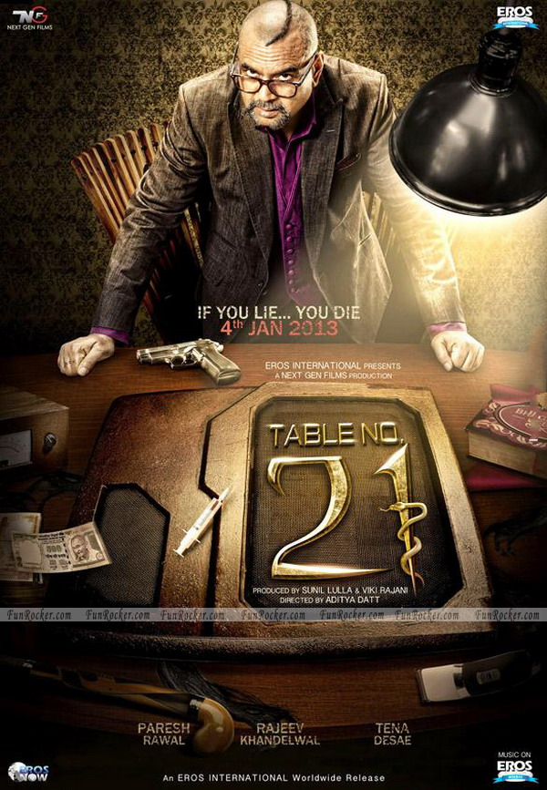 Table No 21 First Look
