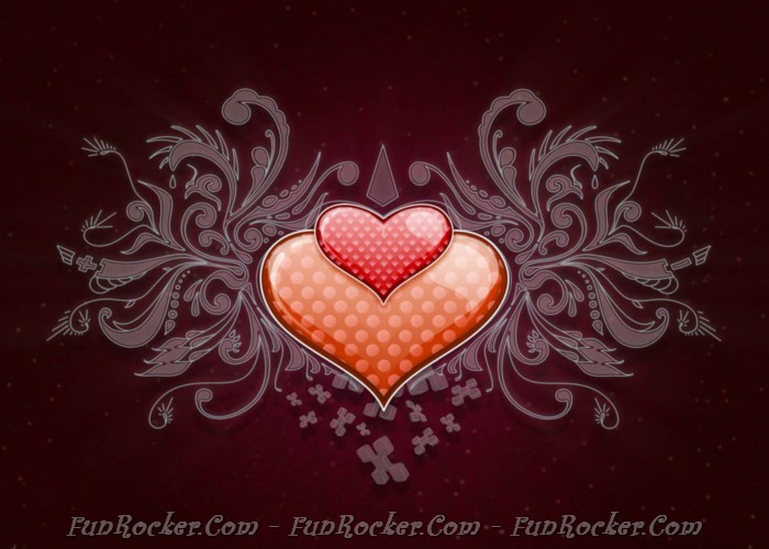 Free Download Heart Love Vector Wide.