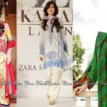Latest Colorful Spring-Summer Lawn Collection 2013
