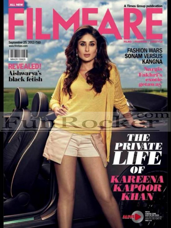 Kareena Kapoor Hot Filmfare Magazine