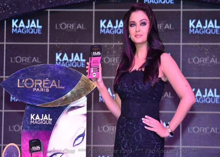 Aishwarya Rai at the L oreal Paris Kajal Magique Launch