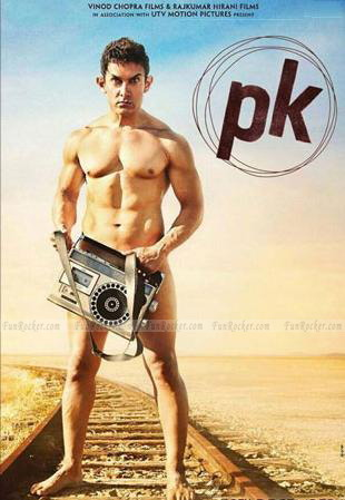 Aamir Khan Goes Nude for Movie PK