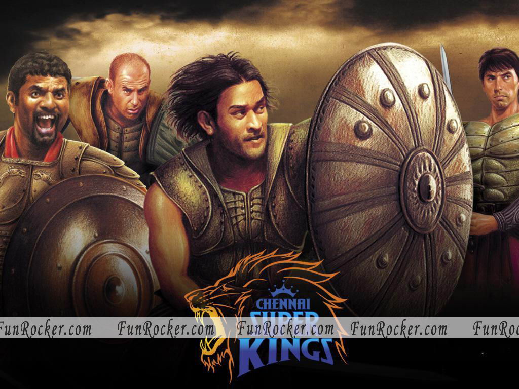 Chennai Super King team Wallpaper